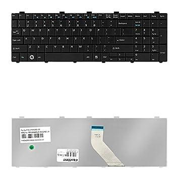 Qoltec 50610 Keyboard refacción para Notebook - Componente para Ordenador portátil (Teclado, Fujitsu, LifeBook A512 LifeBook A530 Lifebook A531 LifeBook ...