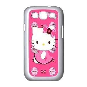 Unique Design -ZE-MIN PHONE CASE For Samsung Galaxy S3 -Hollo Kitty Cartoon Pattern Pattern 8