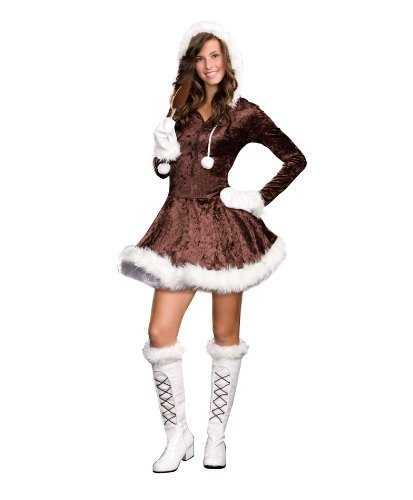 Eskimo Cutie Pie Teen Costume - Medium - Wonder Woman Petite Costume