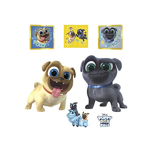 Puppy DecalsMulticolor Giant Wall PalsRollyamp; Licensed Officially Removable Bingo Dog Fathead Disney wZTXukiPOl