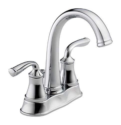 Compliant Delta Faucets - Delta Lorain Two Handle Centerset Bathroom Faucet