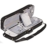 Bobelock 1002 Oblong 1/2 Violin Case with Gray Velour Interior