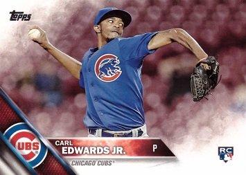 2016 Topps Baseball #640 Carl Edwards Jr. Rookie Card