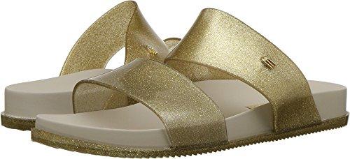 Sandalo Da Scivolo Cosmico Da Donna Melissa Color Oro / Beige