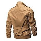NRUTUP Mens Large Size Jacket Mens Clothing Jacket Coat Military Clothing Tactical Outwear Breathable Coat.