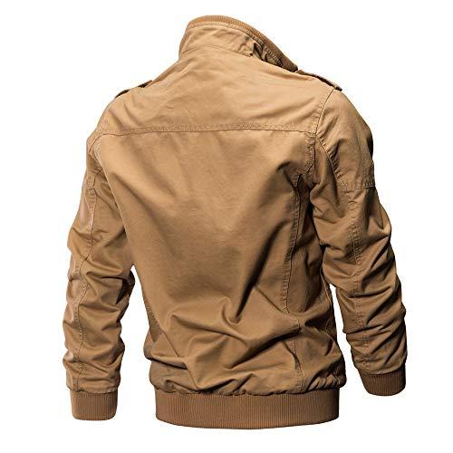 Vêtements Veste Hommes Kaki De Jutoo Pour Manteau tUnT0wAq