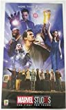 SDCC 2018 EXCLUSIVE MARVEL STUDIOS AVENGERS Cast The First Ten Years Poster