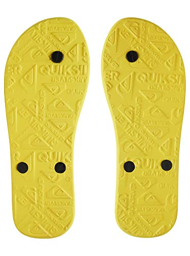 Aqyl100601 Männer Quiksilver Sandalen Black yellow yellow Molokai Für xUwfqB6