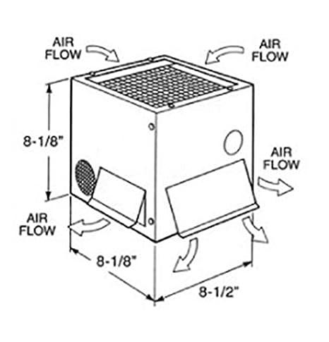 Amazon Com 8030 12v New Heating Cooling Maradyne Wall Floor