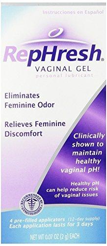 (RepHresh Vaginal Gel,, 0.07 oz., 16 Prefilled Applicators (prm2sk1))