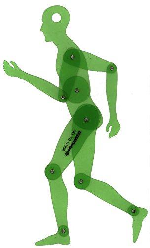 "Alvin TD1735A Human Figure 13.75"" Template"