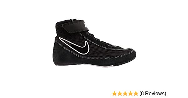 582a9cacf6c28 Nike Kids Speedsweep VII Wrestling Shoe Black/White/Black