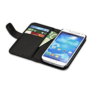 Libratel S4FCASE Black Lambskin Flip Cover for Samsung Galaxy S4