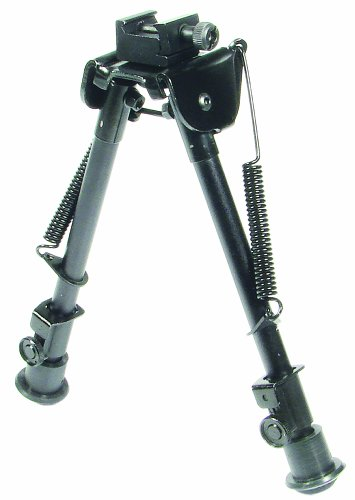 UTG Tactical OP Bipod – Tactical/Sniper Profile Adjustable Height, Outdoor Stuffs