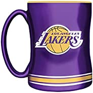 NBA Los Angeles Lakers Sculpted Mug, 14-Ounce