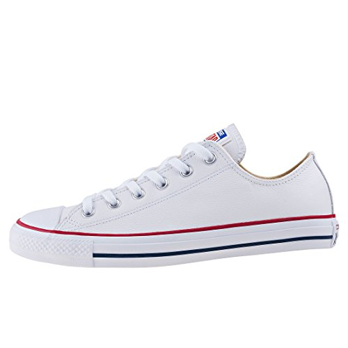 Star Chuck Mode Mixte Ox Lea Blanc Adulte Taylor Converse Baskets Core All dtw4qZx8