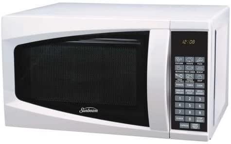Amazon Com Sunbeam 0 7 Cu Ft Digital Microwave Oven