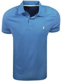 Short Sleeve Advantage Pique Polo Blue Revival Size Large
