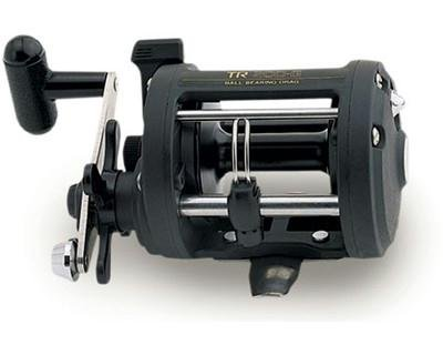 Shimano TR Levelwind Conventional Reel (4.3:1), 50 Pounds/550 Yards, Outdoor Stuffs