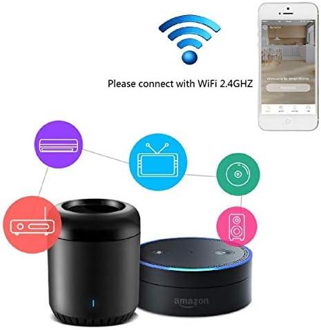 Broadlink Wifi Smart Home Hub RM MINI 3 IR Automation Learning Universal Remote Control Compatible with Alexa 41rUOGqg5gL