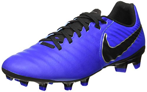 84c1ea09b Nike Men s Soccer Tiempo Legend VII Academy Firm Ground Cleats (11.5 D US)  Blue