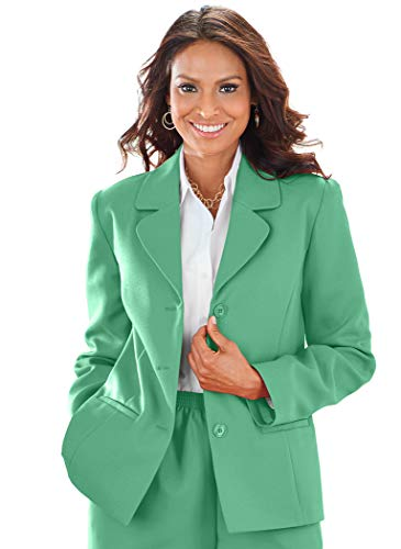 Alfred Dunner Classic Blazer Palm ()