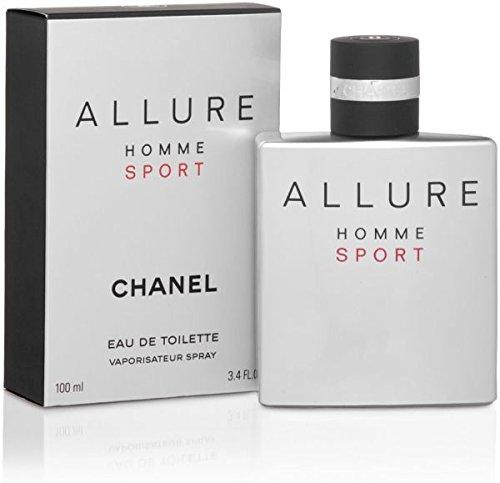Châněl Allure Homme Sport Men Eau de Toilette Spray 3.4 OZ/ 100 ML