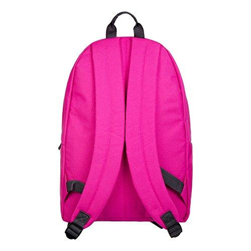HYPE. Clothing plain fuscia, Borsa a zainetto donna rosa Pink Taglia unica