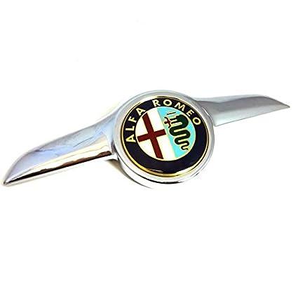 Genuine Alfa Romeo GT efecto cromado rejilla/Bonnet insignia – 60681590