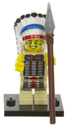 Tribal chief: Lego Mini-figures Series #3 [#03] (Lego Tribal Chief)