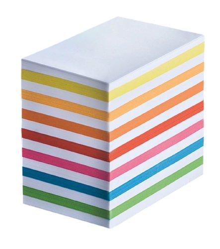 Wedo 2702669079 Ersatzpapier für Zettelbox mit Stiftehalter abwechselnd, 5.5 x 9 cm, 700 Blatt, weiß