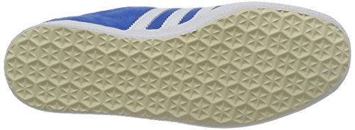 adidas Gazelle OG Unisex-Erwachsene Sneakers Blau (Air Force Blue/White/Metallic Gold)
