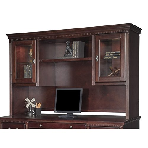Martin Furniture Huntington Club Storage Hutch, Fully Assembled