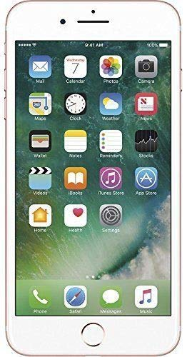 Apple iPhone 7 Plus, T-Mobile, 128GB - Rose Gold (Renewed) (My Iphone Doesn T Have A Sim Card)