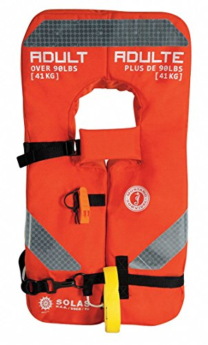 MUSTANG SURVIVAL Mustang 4-ONE Type I Vest f/Adults Over 90lbs / MV8040 ()