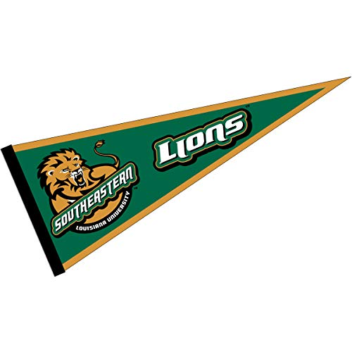 College Flags and Banners Co. Southeastern Louisiana Lions Pennant
