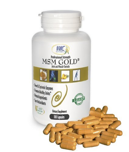 UPC 689076694902, Msm Gold Systemic Enzyme 100ct bottle