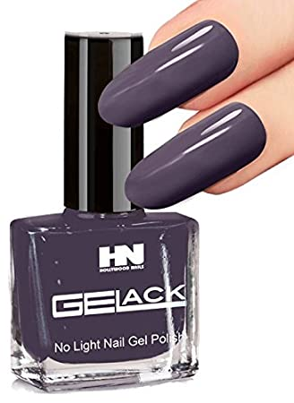 Gelack No 20 Purple Grey 10 Ml Permanent Gel Nail Polish Holds Over