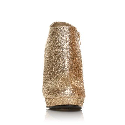 Stilleto H20 Shoe Glitter High Champagne Heel Ankle Boots Very Ewgzq