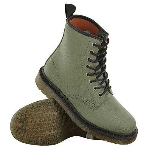 Dr.Martens Castle Khaki Womens Boots Khaki