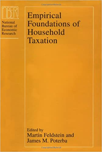 Empirical Foundations of Household Taxation (National Bureau of Economic Research Project Report)