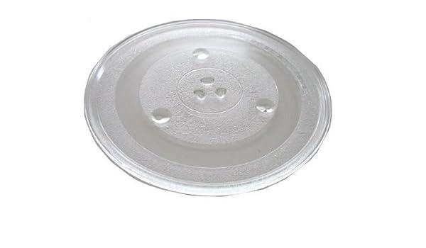 Placa de cristal para Sanyo em-sl60 C hornos de microondas: Amazon ...