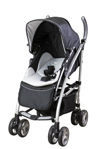 Mia Moda Dream On Me Adriana Reversible Seat Stroller White