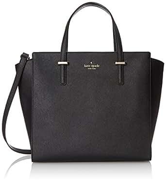 kate spade new york Cedar Street Hayden Top Handle Bag, Black, One Size