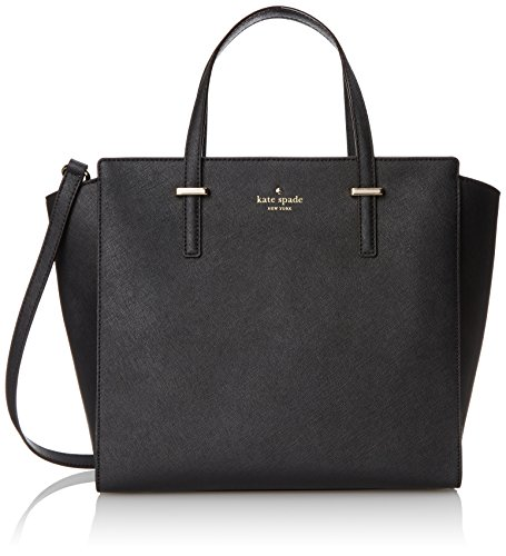 kate spade new york Cedar Street Hayden Top Handle Bag, Black, One Size by Kate Spade New York