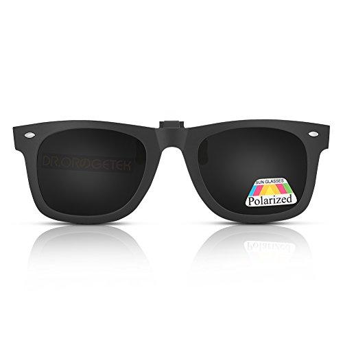 High Quality Clip On Sunglasses - Clip-on Sunglasses Unisex Polarized Frameless Lens