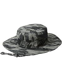 Bora Bora Print Booney Hat, Black Camo, One Size