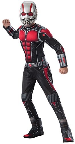 Ant-Man Deluxe Costume, Child's (Kids Ant Costumes)