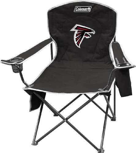 Falcons Collapsible (NFL Portable Folding Chair with Cooler and Carrying Case)