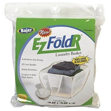 Bajer Design& Marketing 5234 Ez Fold'r Laun Basket [Misc.], 19-1/4  x 19-1/4  x 14